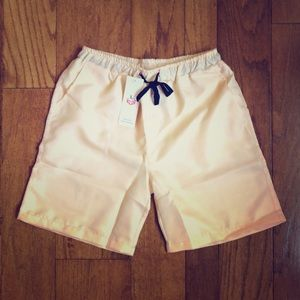 Khaki Shorts with Drawstring